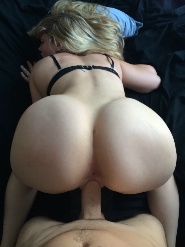 Blonde Curly Hair Big Ass