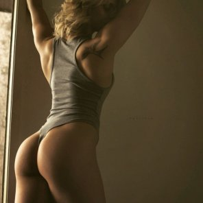 amateur photo Love that leotard