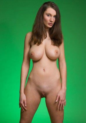 amateur photo Green screen