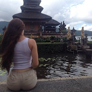 amateur photo White girl in Asia