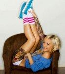 amateur photo Legs up