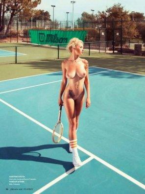 amateur photo Tennis player