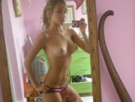 amateur photo Cute perky and athletic