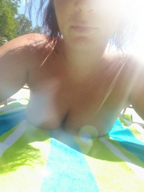 amateur photo Just at my local pool, being naughty [F]