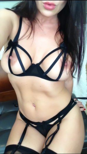 amateur photo Sexy Strappy Lingerie