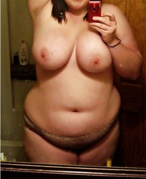 amateur photo Big tits chubby