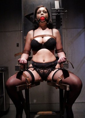amateur photo Strapped to the Interrogation Chair
