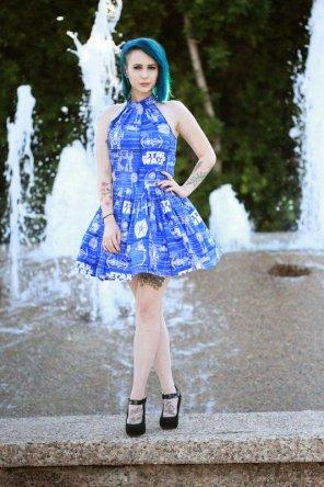 amateur photo TIE Fighter Dress