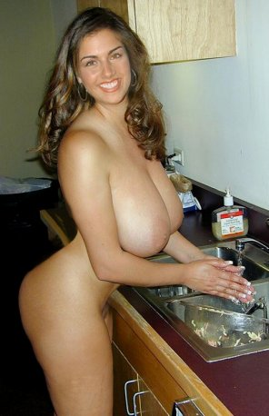 amateur photo Washing Her Hands