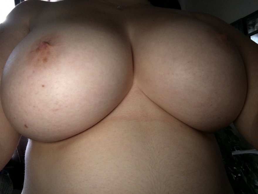 My wife's beautiful tits! Porn Photo