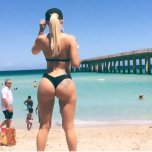 amateur photo Blonde Botty