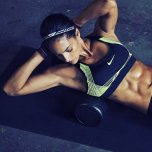 amateur photo Allison Stokke Working Her Core