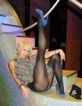 amateur photo Toned legs