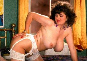 amateur photo Ingrid on the bed