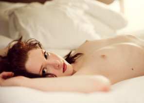 amateur photo Petite and white as a sheet