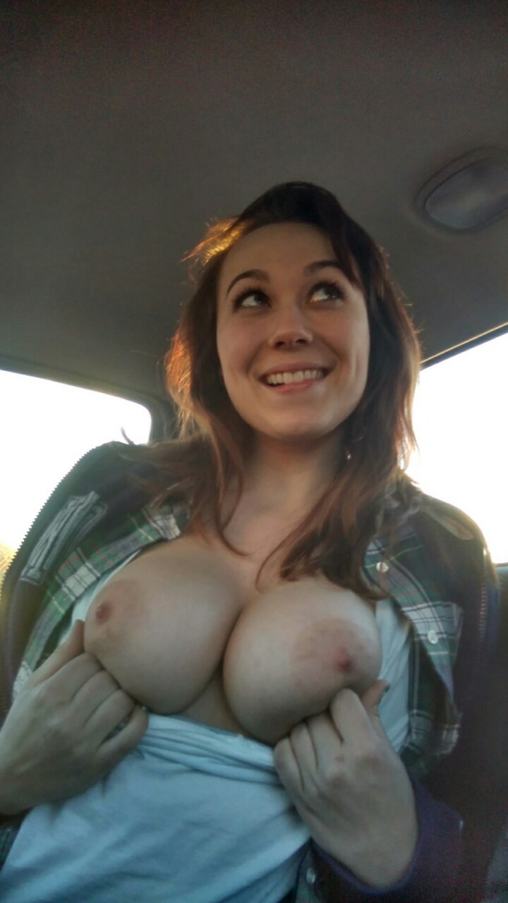 Variants Wife flashes tits in car nude congratulate