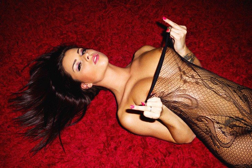 Full Body Fishnet Porn Photo