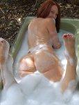 amateur photo Bubble bath babe