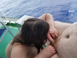 Ship balcony nude cruise consider