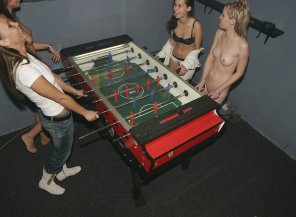 amateur photo Foosball