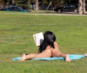 amateur photo On grass