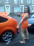 amateur photo Matches the car