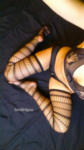 amateur photo My new fancy fishnets, do you like them?