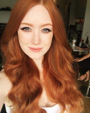 amateur photo Lush red hair