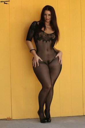 amateur photo Body stocking