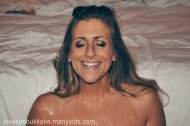 amateur photo Rachel Rayye covered by 15 guys