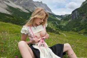 amateur photo Scandinavian stunner