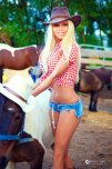 amateur photo Cow girl