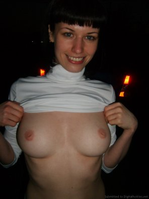 amateur photo Nighttime flashing