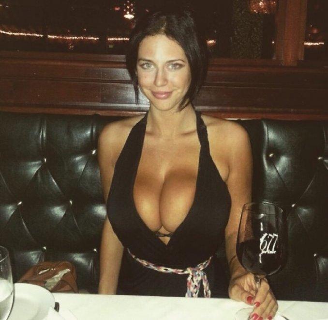 Having dinner Porn Photo