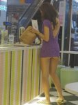amateur photo Purple dress.