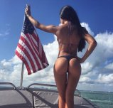 Patriotic boat ride