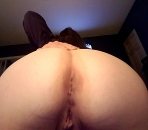 amateur photo Well the virginity of my pussy has already been taken but the virginity of my asshole has yet to be claimed 😇