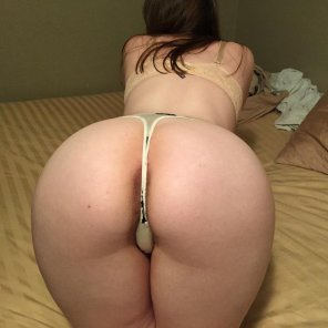 amateur photo Juicy Thong Ass