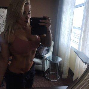 amateur photo WWE Wrestler Natalya Neidhart