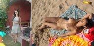 amateur photo Yard vs. Beach