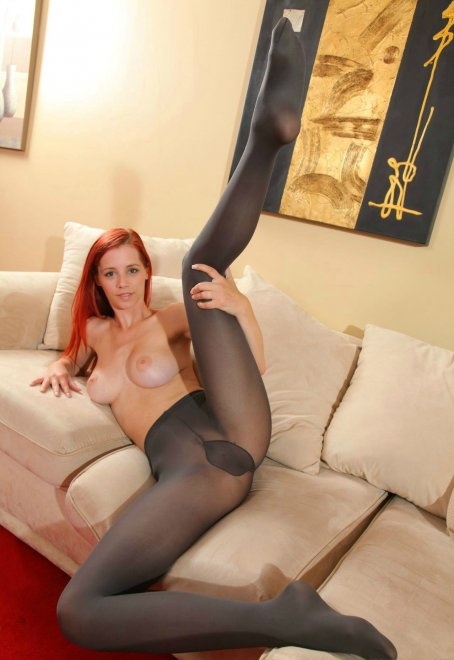 Only opaque pantyhose Porn Photo