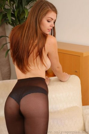 amateur photo Rosie Danvers in pantyhose