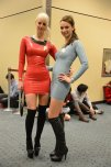 amateur photo PVC Star Trek ladies.