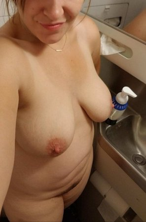 amateur photo [oc] [f36] my hubby dared me...