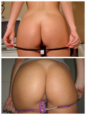 amateur photo Another before/after picture, more revealing.