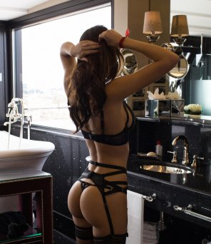 amateur photo Crazy lingerie body