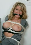 amateur photo Gagged