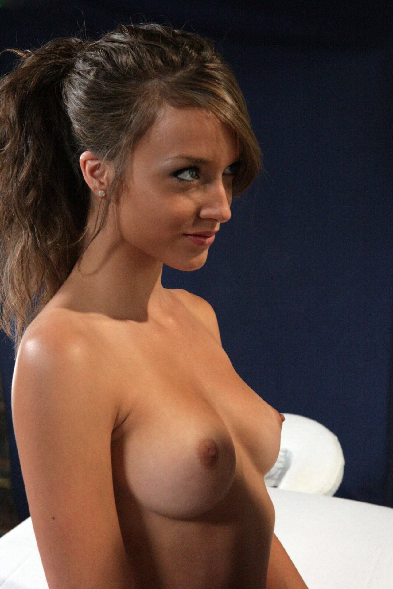 cute brunette pornstar