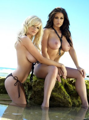 amateur photo Michelle Marsh and Lucy Pinder