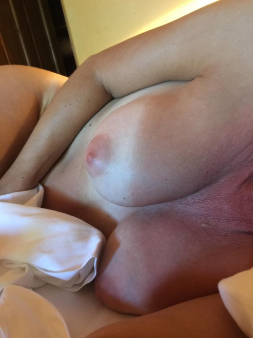 Do you like my wife's tan lines? Porn Photo